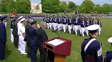 Virginia Tech Executive Mba Review by Virginia Tech Corps Of Cadets Change Of Command Pass In
