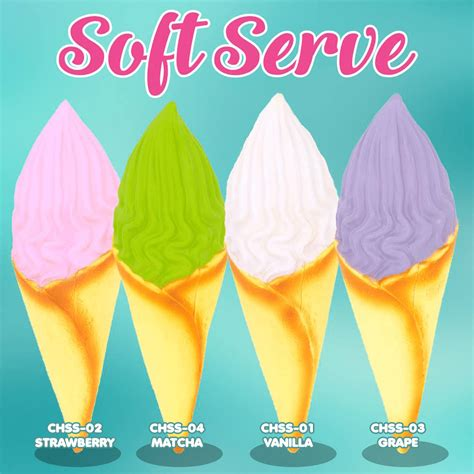 chawa soft serve squishy japan