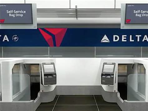 Delta Background Check Delta Kiosk Checks Your To Check Your Bag Wptv