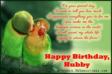 Happy Birthday Wishes To From Husband Birthday Greetings For Husband 365greetings Com
