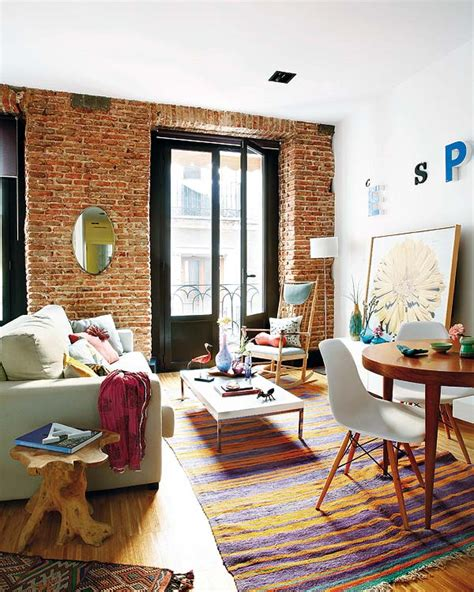 the most of small spaces a small madrid apartment makes the most of its space adorable home