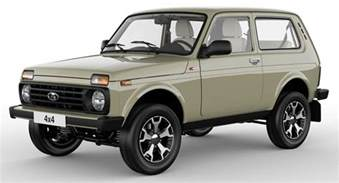 Lada De Lada Niva 4x4 Turns 40 And Gets Special Editions As Part