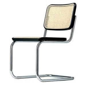 freischwinger stuhl bauhaus thonet s 32 chaise cantilever thonet ambientedirect
