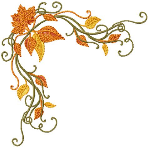 embroidery design motifs abc designs fall motifs machine embroidery designs set
