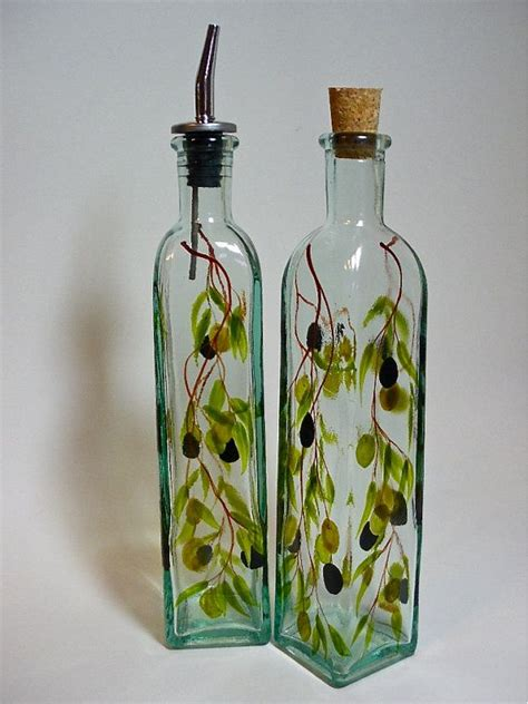 decorative oil bottles 1000 images about decorative olive oil and or glass