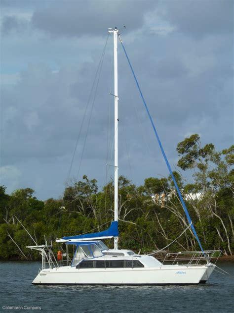 catamaran escape hatch tasman 11 m raised cabin owner s version for sale