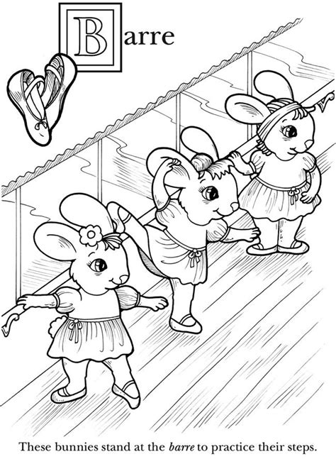 ballerina bunny coloring page best 33 coloring pages for young dancers images on
