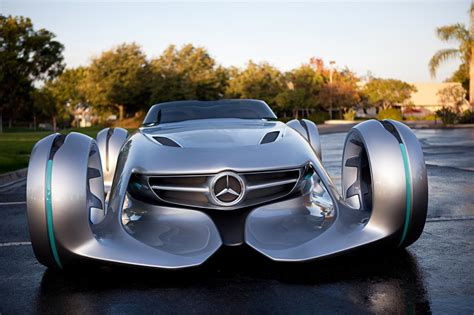 future mercedes mercedes benz silver lightning concept is out of this world