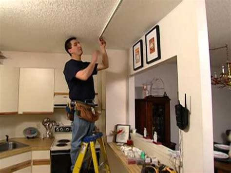 how to install track lighting how to install track lighting this old house youtube