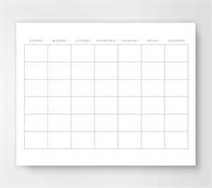 print out of a monthly calendar calendar template 2016