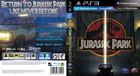 download jurassic park the game ita jurassic park operation genesis ps3 case v2 by kingza123
