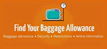 united airlines baggage allowance international flight baggage allowances for major airlines