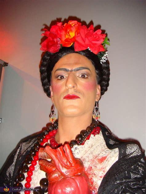 frida kahlo halloween costume photo