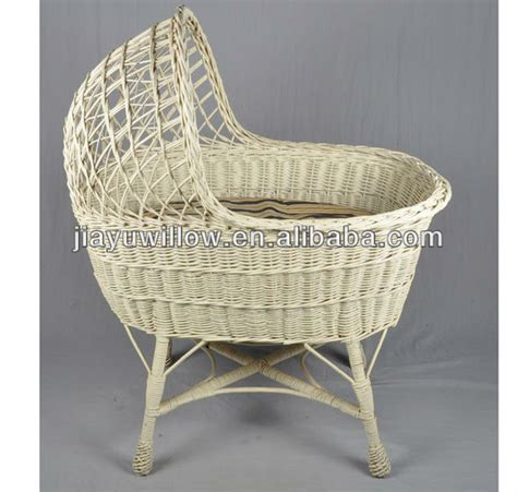 baby basket swing natural wicker weave baby basket swing crib buy wicker