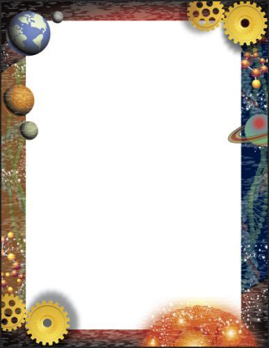 lined paper with science border 31 best page borders images on pinterest page borders
