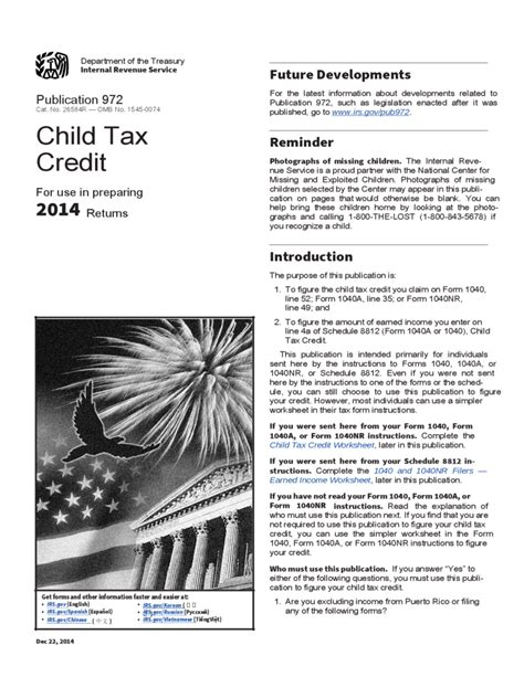 Child Tax Credit Application Form Banking Forms 76 Free Templates In Pdf Word Excel