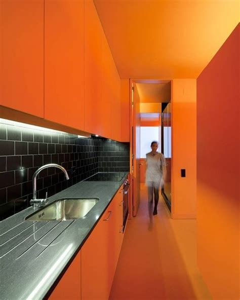 orange kitchens ideas top 10 rainbow colorful kitchens home design and interior