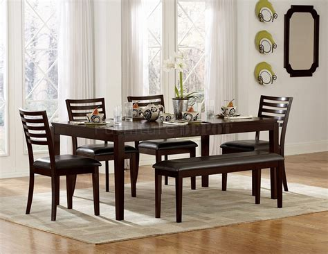modern dining tables with benches amazing espresso dining bench 4 modern dining table with