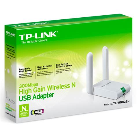 300mbps High Gain Wireless Usb Adapter Tl Wn822n tp link 300mbps wireless n router tl wr841nd