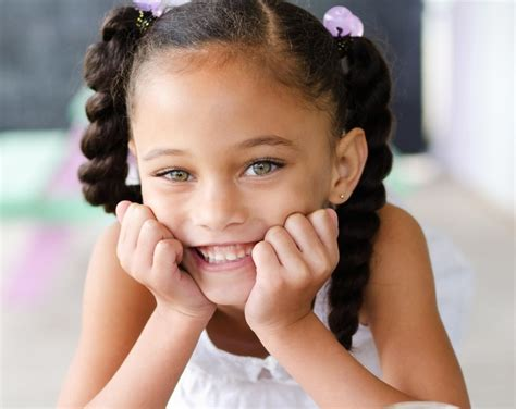 Hairstyles For Biracial Hair by Biracial Child Hair Styles Hairstylegalleries