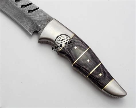 tang knives custom handmade damascus knife tang damascus knife