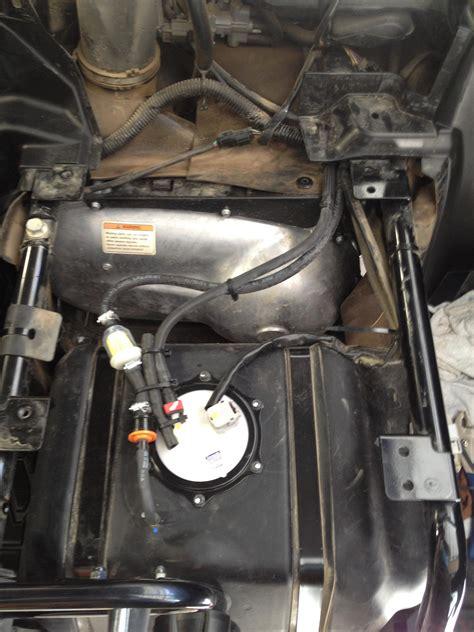 mod  save teryx fuel pumpfuel tankcheck valve  debris page  kawasaki teryx forum