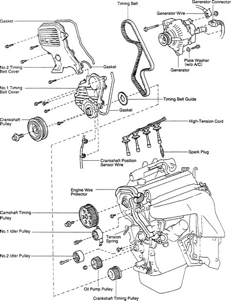 4afe engine parts diagram 4afe free engine image for