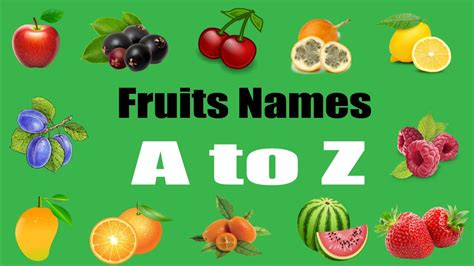 a to z vegetables names with pictures a to z fruits names with pictures for children bd