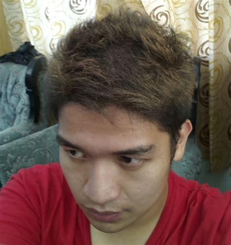filipino guys hair wish washable men s color hair spray pinoy guy guide