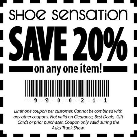 shoe show coupon shoe sensation coupons 28 images printable coupons