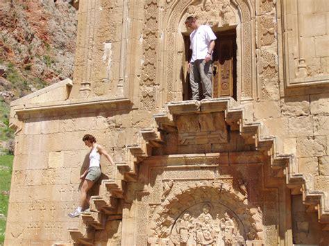 Charming Church Stairs #2: Noravank-stairs-P5220152.JPG