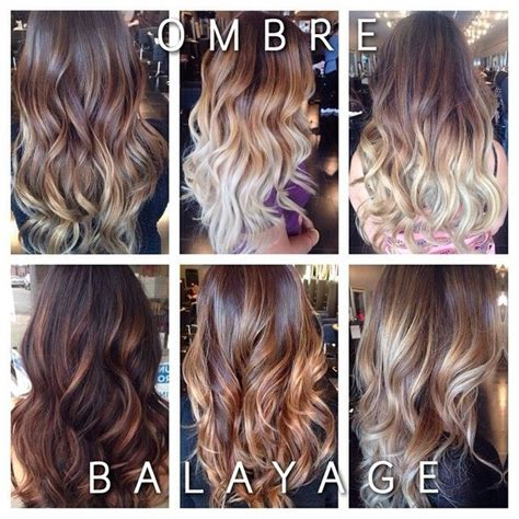 balayage hair color vs ombre the difference is between ombr 233 and balayage ombres where