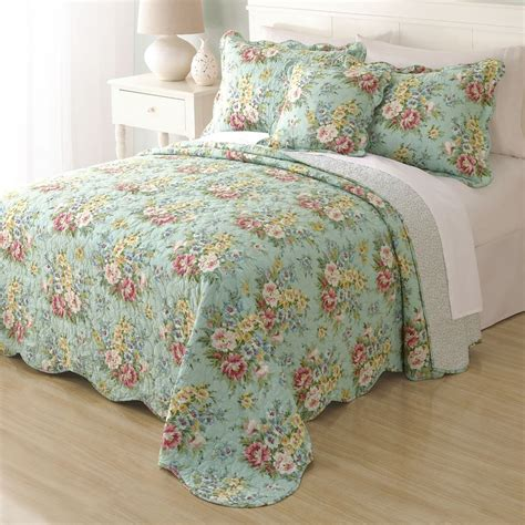 turquoise floral bedding kohl s - Country Bedspread