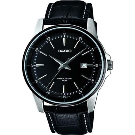 Casio Mtp V004l 1a Original best value casio fashion men 198 s black leather