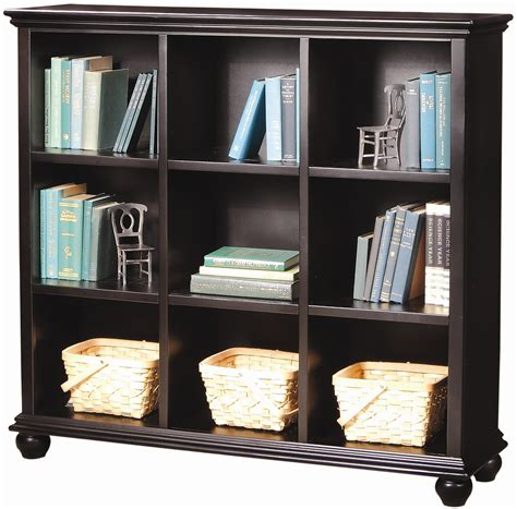 aspenhome casual traditional 48 inch cube bookcase