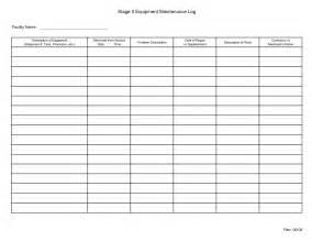 mechanic sheet template free printable maintenance logbook template for recording