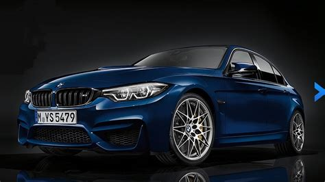 bmw 3 series facelift 2018 2018 bmw m3 revealed with discreet facelift