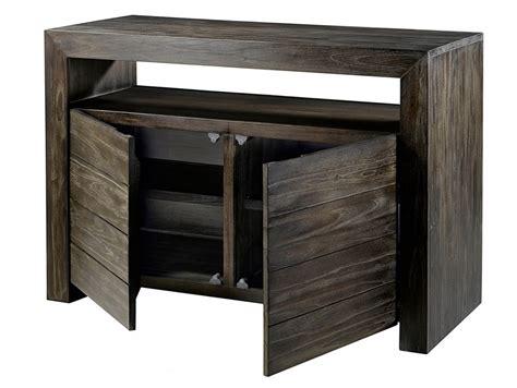 meuble sous vasque teck 2 portes 1 niche meuble vasque