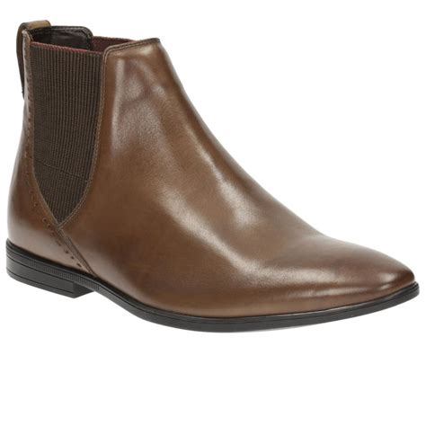 clarks chelsea boots mens clarks bton top mens formal chelsea boots from