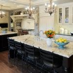 small kitchens  islands designs  nice intrior kitchen decor  elegant furniture  nice grey mosaic tile backsplash design