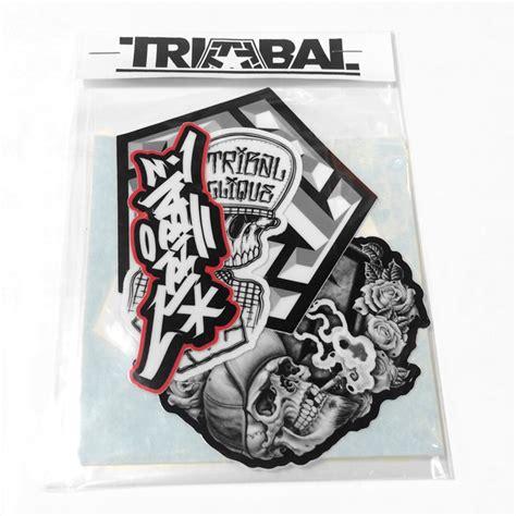 Sticker Tribal Gear by Sticker Pack Tribal Streetwear Worldwide Headquarters