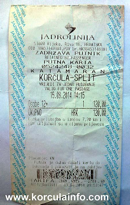 catamaran ferry tickets catamaran ferry ticket korcula split