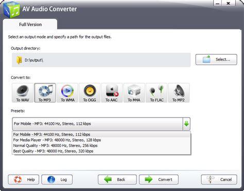 best file format for audio av audio converter features convert audio files among
