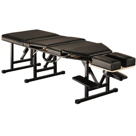chiropractic bench chiropractic table arena 120 portable pwxch120 163 344 00