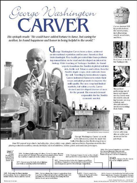 biography of george washington carver timeline george washington carver george washington and washington