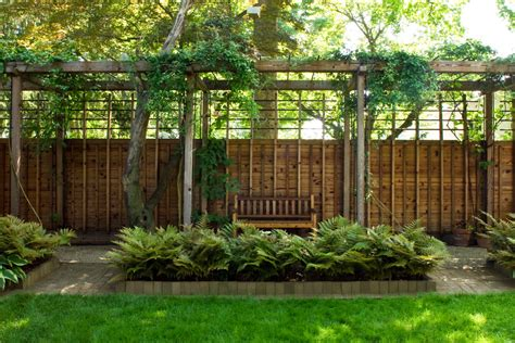 impressive privacy fence designs decorating ideas images in landscape contemporary design ideas