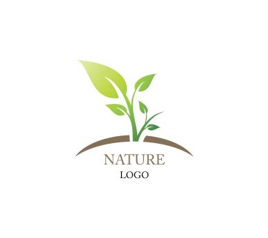 free nature logo design nature leaf green inspiration vector logo design download