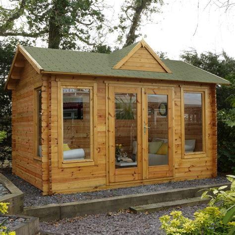 5000 dollar cabin blockbohlenhaus im garten funktionaler zusatz