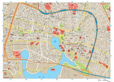jidda map map of jeddah 750 x 540 pixels