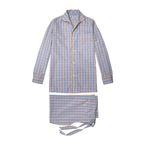 Stripe Yellow Pajamas turnbull asser multistripe check pajamas with yellow